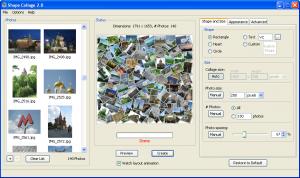 Shape Collage 3.1 - náhled