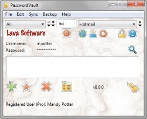 PasswordVault 8.0.1 - náhled