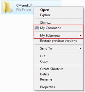 CMenuEdit 1.0.1 - náhled