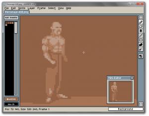 Allegro Sprite Editor 0.9 - náhled