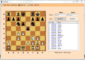 Chessie 1.0 - náhled
