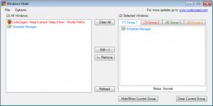Windows Hider 1.1.25 - náhled