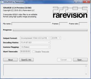 5DtoRGB 1.5.4 - náhled