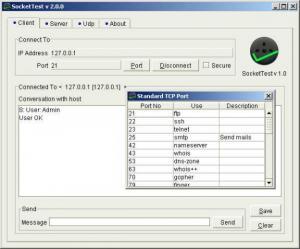 SocketTest 3.0.0 - náhled