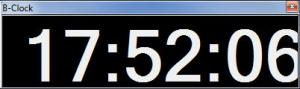 B-Clock 1.0.0.0 - náhled