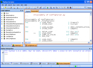PyScripter 4.0.0 - náhled
