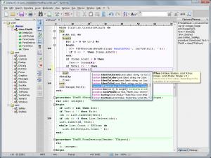 SynWrite Editor 6.40.2770 - náhled