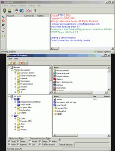 CesarFTP 0.99g - náhled