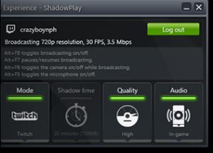 NVIDIA GeForce Experience 3.14.0.139 - náhled
