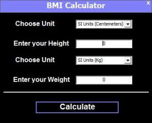 BMI Calculator 1.0 - náhled