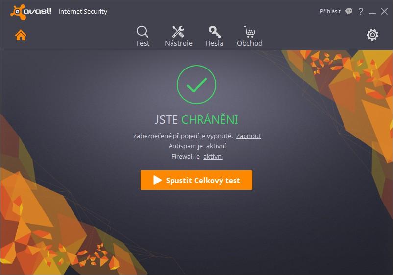 Avast Internet Security 2016.12.3.2279 - Plná licence na 1 rok - 1 licence