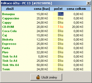 iKavárna 1.7.2 - náhled