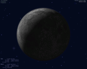 Actual Moon 3D 1.5 - náhled