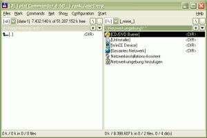 TCBurner 0.9.3 - náhled