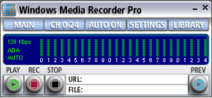 WM Recorder 16.7 - náhled