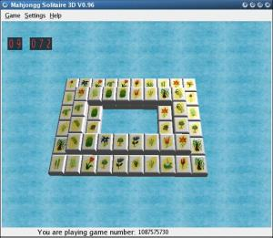 MahJongg Solitaire 3D 1.01 - náhled