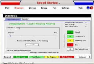 Speed Startup 1.03 - náhled