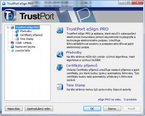 TrustPort eSign Pro 2.0 11.0.0.4418 - náhled