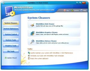 WinUtilities Professional Edition 14.6 - náhled