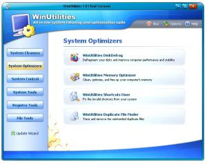WinUtilities Professional Edition 15.21 - náhled