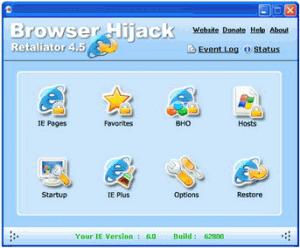 Browser Hijack Retaliator 4.5.0 #471 - náhled