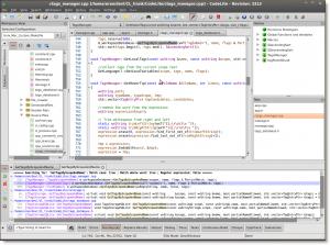 CodeLite 10.0.5 - náhled