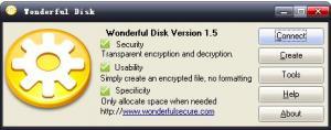 Wonderful Disk 1.5 - náhled