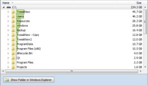TweakNow HD-Analyzer 1.0.0 - náhled