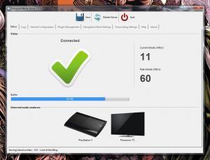 Universal Media Server 6.7.4 - náhled