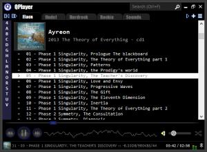 QPlayer 1.1.0.76 beta - náhled