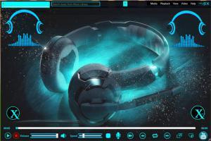 Xam Music Player 2.0 - náhled