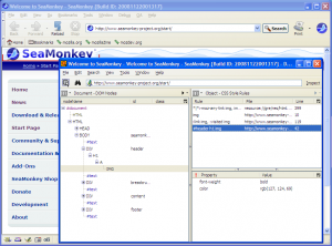 SeaMonkey 2.46 - náhled