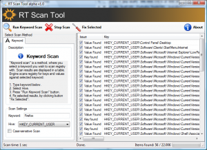 RT Scan Tool - náhled