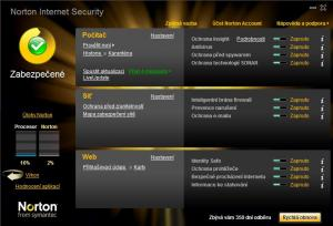 Norton Internet Security 2013 - náhled