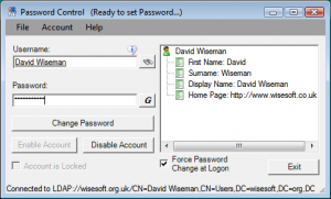 Password Control 2.4 - náhled