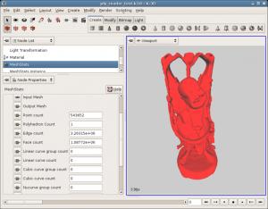 K-3D 0.8 - náhled