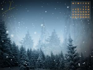 Animated SnowFlakes Screensaver 2.9 - náhled