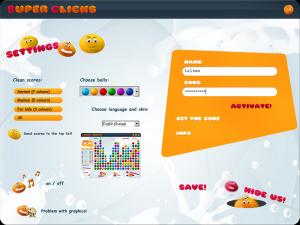 Super Clicks 3.0 - náhled