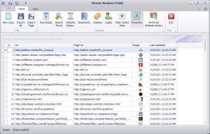 Chrome Analyzer 1.0.180 - náhled