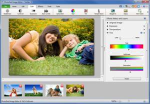 PhotoPad Image Editor 2.81 - náhled