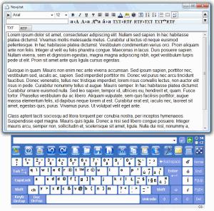 MousePad  2.0 - náhled
