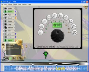 CDizz Player 0.99 #57 - náhled