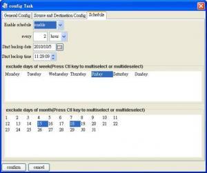 TTR Backup 1.0.0.2 - náhled