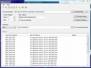 File Grinder 0.1.2 - náhled