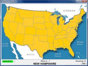 MapClick USA 2.0 - náhled