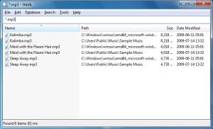 Hard Disk Database 1.4.4 - náhled