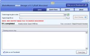 DataNumen Disk Image 1.6 - náhled