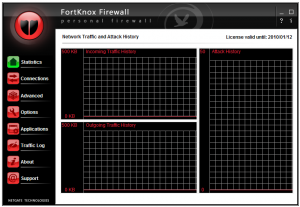 FortKnox Personal Firewall 20.0.405 - náhled