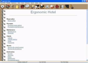 Ergonomic Hotel 2.1 - náhled