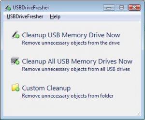 USBDriveFresher 1.0 - náhled